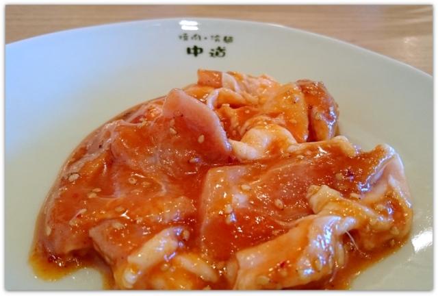 青森県 弘前市 中道 なかみち さくら野店 焼肉 ランチ とりもも グルメ