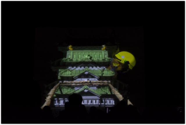 青森県 弘前市 弘前公園 弘前城 弘前城天守 弘前城雪燈籠祭り 観光 祭り イベント 雪像 プロジェクションマッピング