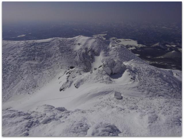青森県 弘前市 登山 スノートレッキング 岩木山