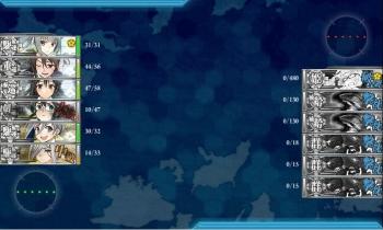 E-2ボス夜戦7戦目終了