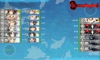 E-3ボス昼戦1戦目