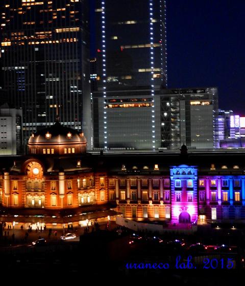 12月26日東京駅夜景5