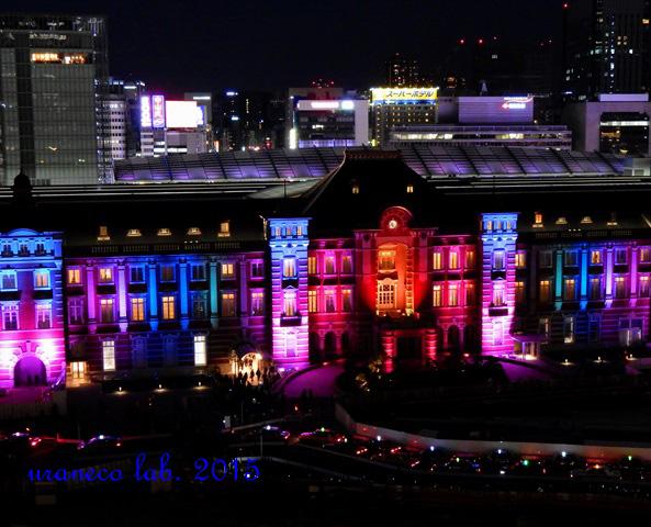 12月26日東京駅夜景4