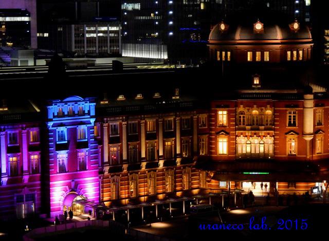 12月26日東京駅夜景3