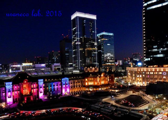 12月26日東京駅夜景