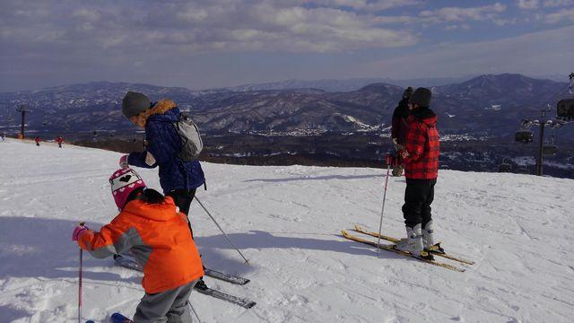 2016 スキー初乗り1