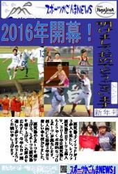 スポーツ新聞・2016年賀状