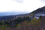 初雪の三国峠