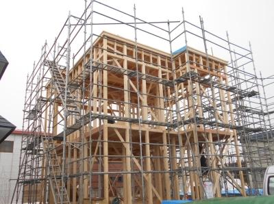 稲田新築工事