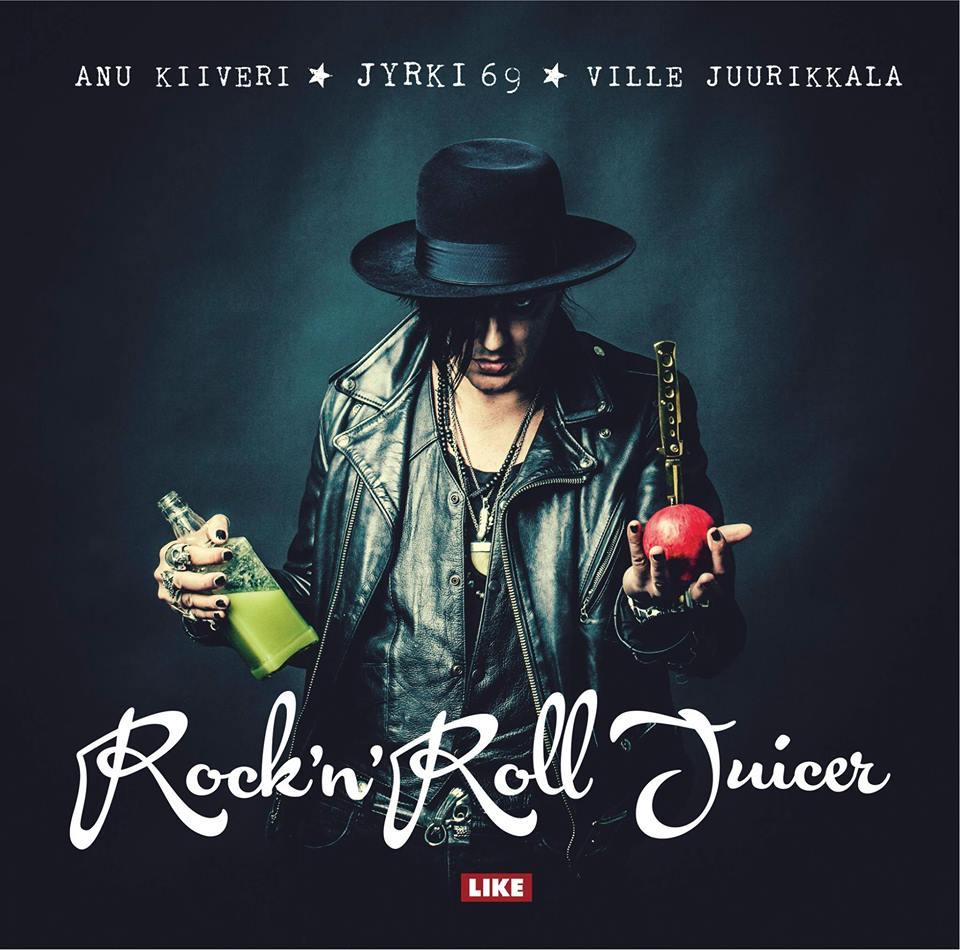 Jyrki 69 Rockn Roll Juicer Book kansi