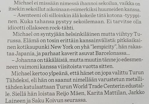 Michael Monroe ANNA マイケル・モンロー 02.2016