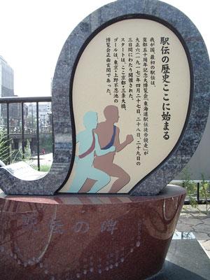 駅伝の碑.