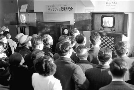 テレビ放送のの始まり