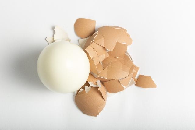 ツルン! とむける ゆで卵