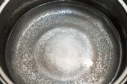 焦がした鍋