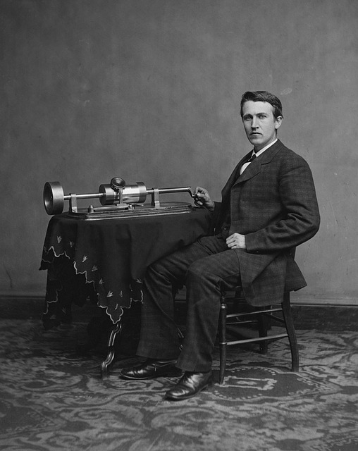 発明家 エジソン