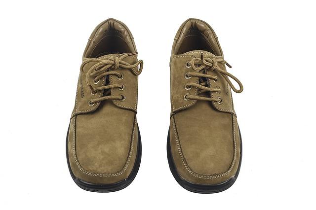 靴をそろえる