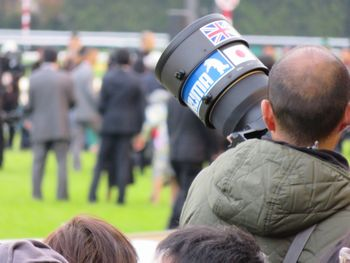 カメラマン。