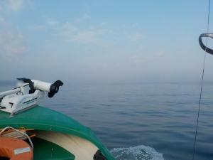 DSCN1737 寝坊7時半出航