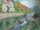 千曲川秋景を描き終えた