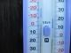 マイナス10℃を示す温度計