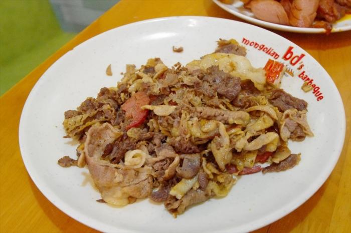 モンゴル料理ビュッフェ (18)