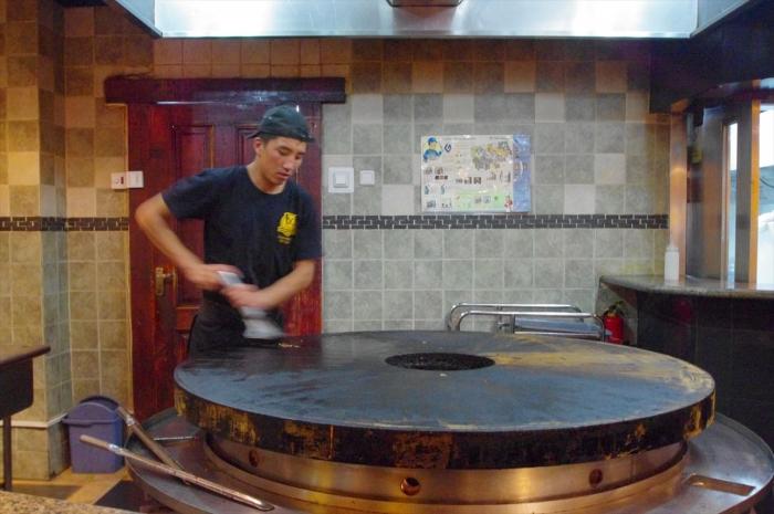 モンゴル料理ビュッフェ (24)