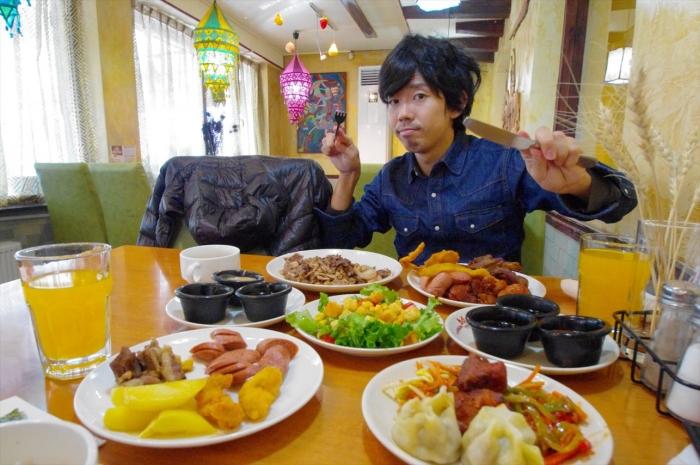 モンゴル料理ビュッフェ (21)