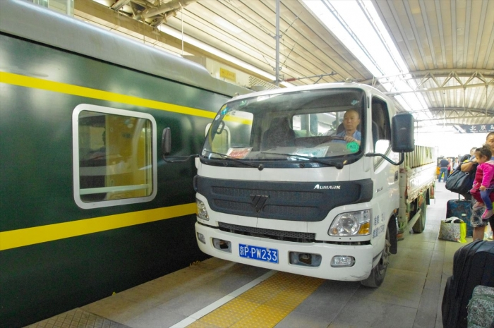 北京駅到着 (1)