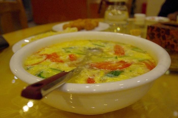 北京空港のホテルでディナー (8)