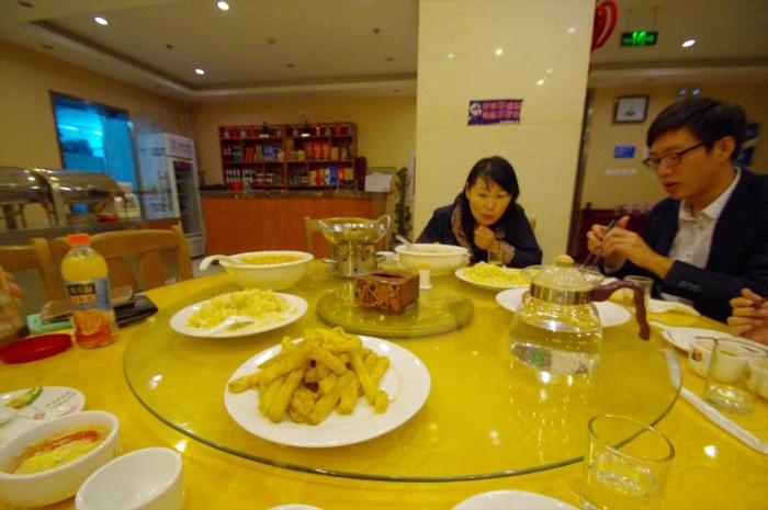 北京空港のホテルでディナー (10)
