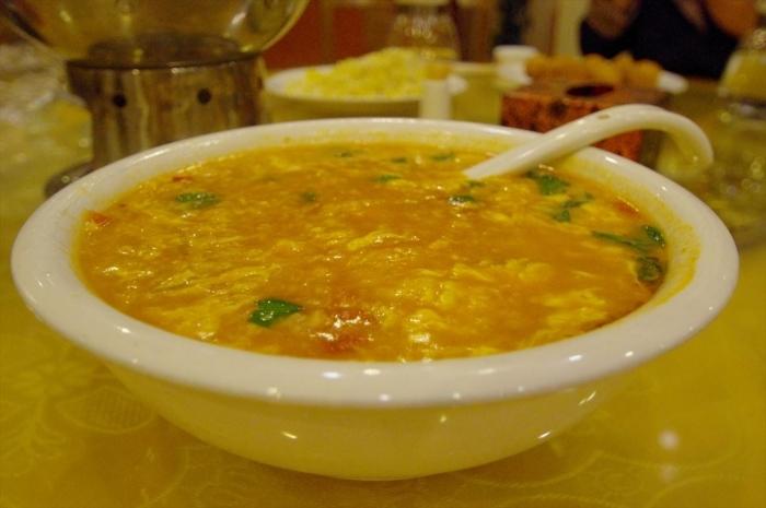 北京空港のホテルでディナー (7)