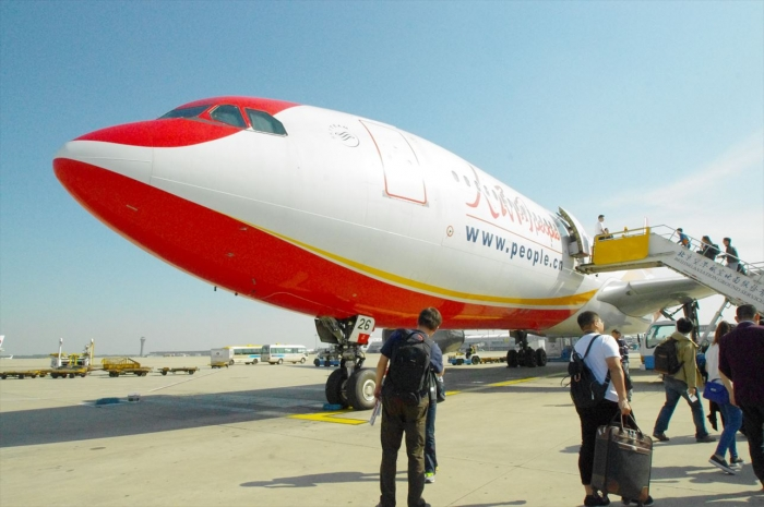 北京から上海空港へ (2)
