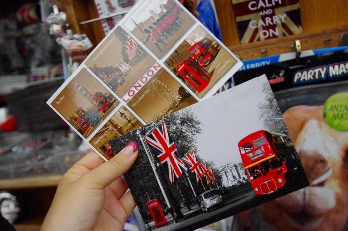 ロンドンポストカード