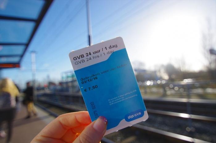 アムステルダムメトロカード (1)