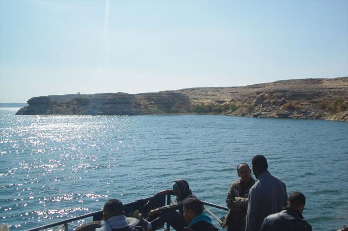 フェリーでスーダン国境越え (6)