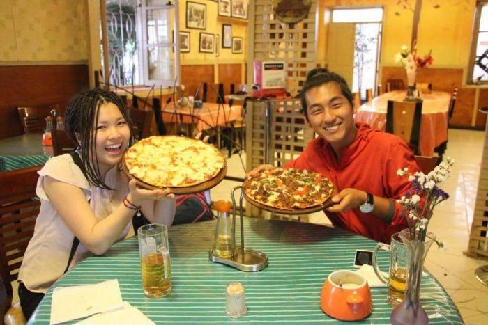 アディスアベバでピザ