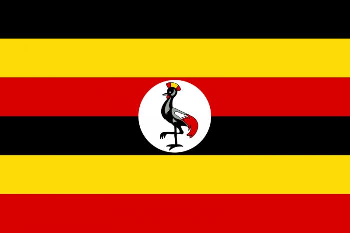 ウガンダ国旗