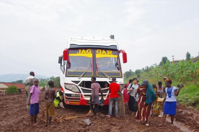 ルワンダへ国境越え (1)