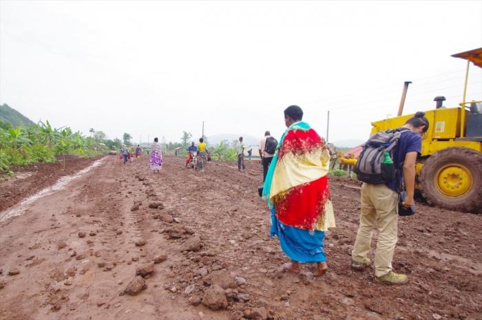 ルワンダへ国境越え (4)