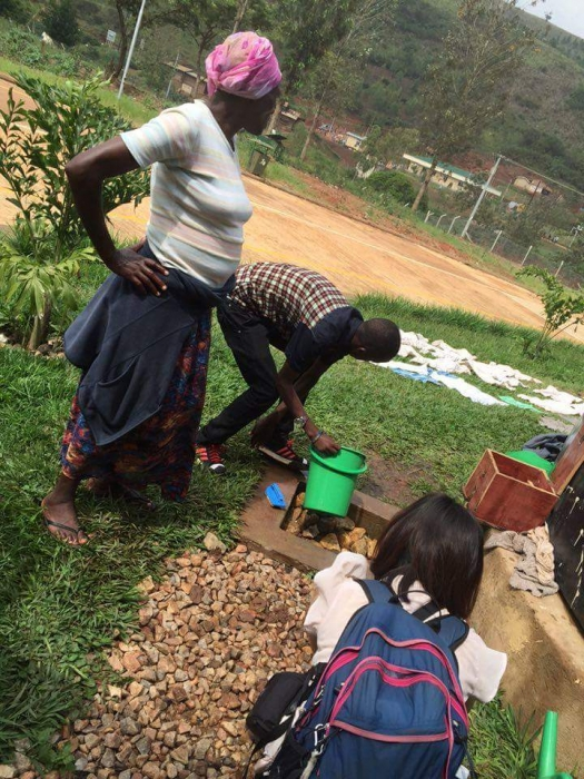 ルワンダのイミグレ
