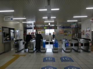 JR琵琶湖線野洲駅