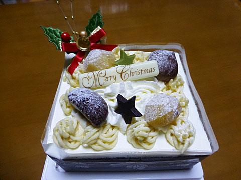 15 12/23 六花亭 クリスマスケーキ