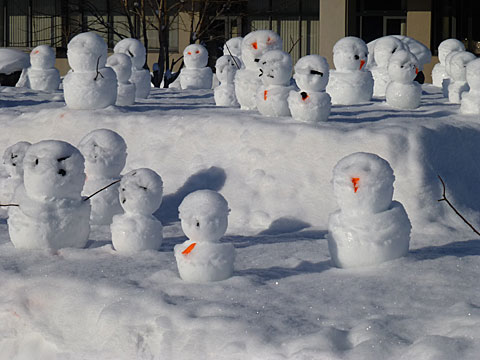 16 1/15 雪だるま
