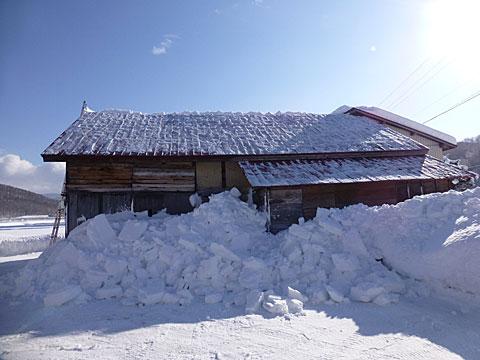 16 1/24 雪下ろし 終了