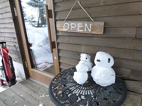 16 2/28 田村ファーム 雪だるま