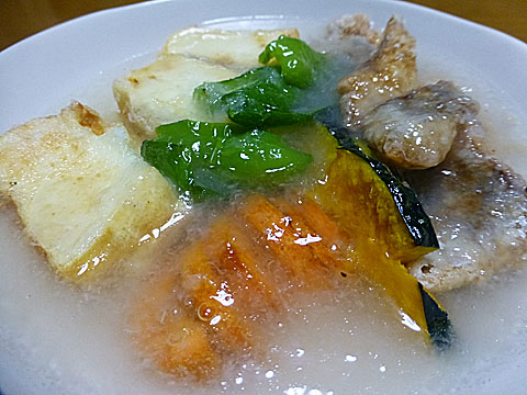 16 2/8 野菜とホッケ 和風あんかけ