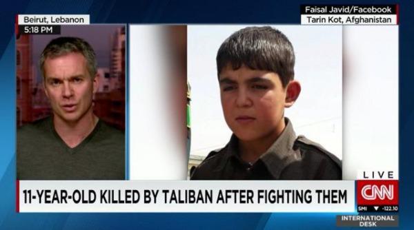 タリバーンと戦った11歳少年、銃撃され死亡