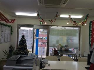 田口不動産 吹上店 クリスマス