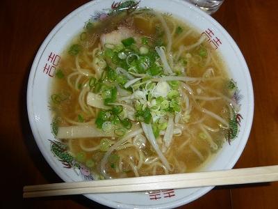 合田醤油ラーメン